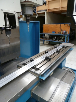 3 Axis long part machining<br>